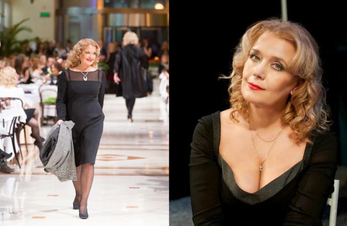 Irina Alferova chú trọng phong cách thời trang mỗi lần xuất hiện. Dù có tuổi, bà được nhiều khán giả nhận xét đằm thắm, quyến rũ.