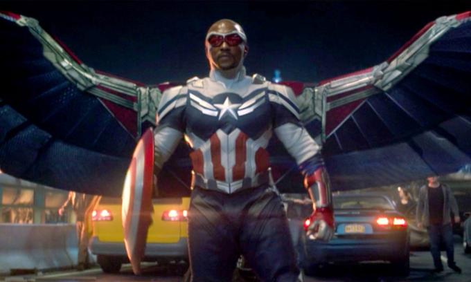 Nhân vật Sam Wilson trở thành Captain America mới của Marvel. Ảnh: Disney.