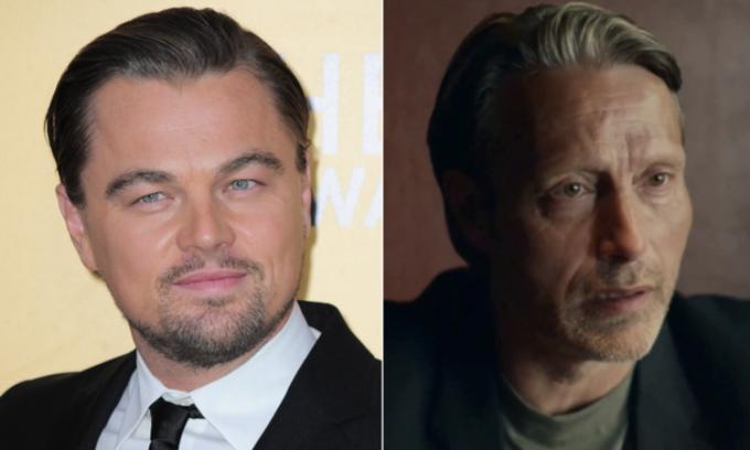 Leonardo DiCaprio (trái) có thể nhận vai chính thay Mads