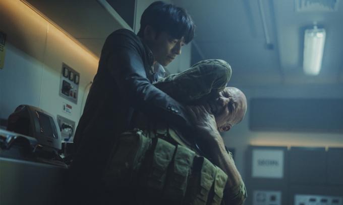 Các cảnh hành động, rượt đuổi trong phim không hoành tráng và ấn tượng.  Ảnh: CJ.