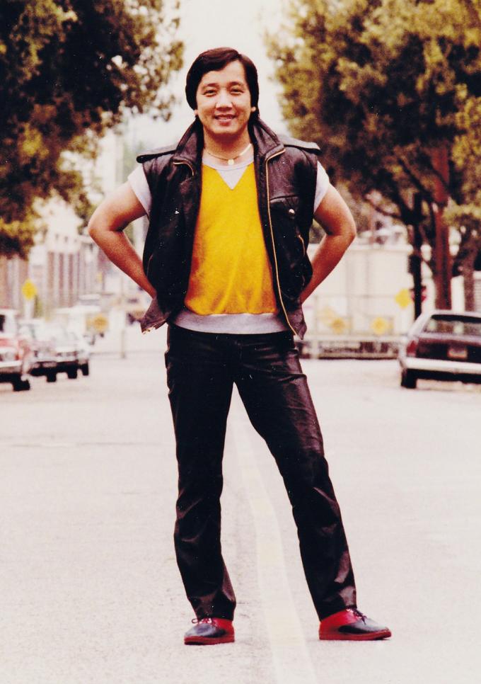 Elvis Phương những năm 1970 - khi nổi tiếng với ban nhạc Phượng Hoàng. Ảnh: Times Records.