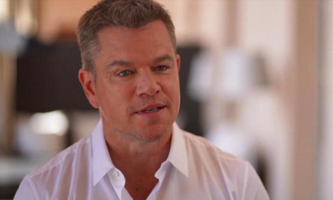 Matt Damon đã trả lời phỏng vấn trên truyền hình vào ngày 19 tháng 7.  Ảnh: CBS.
