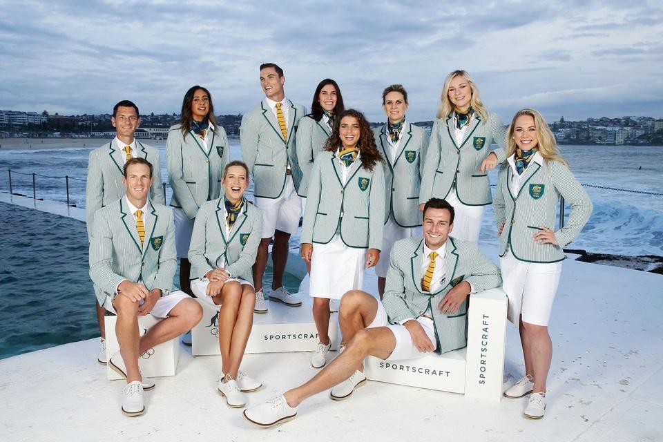 Những bộ đồng phục đẹp trong lịch sử Olympic - Ảnh 9