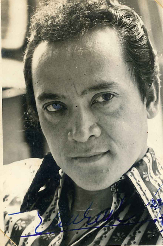 Tài tử Hùng Minh nổi tiếng với loạt vai kép độc thập niên 1960-1970. Ảnh: Nhân vật cung cấp.