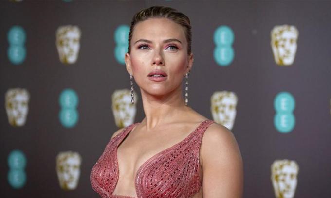 Nữ diễn viên Scarlett Johansson. Ảnh: AP,