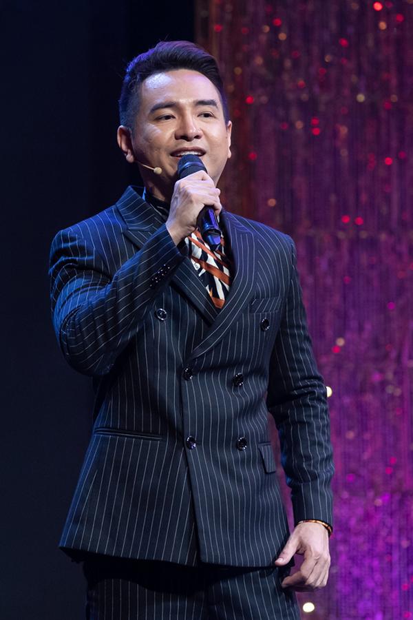Việt Quang trở lại sân khấu năm 2020. Ảnh: Sen Vàng.