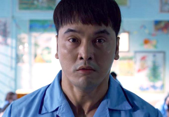 Tạo hình Ưng Hoàng Phúc trong web-drama Sói già. Ảnh: Diễm Nguyễn