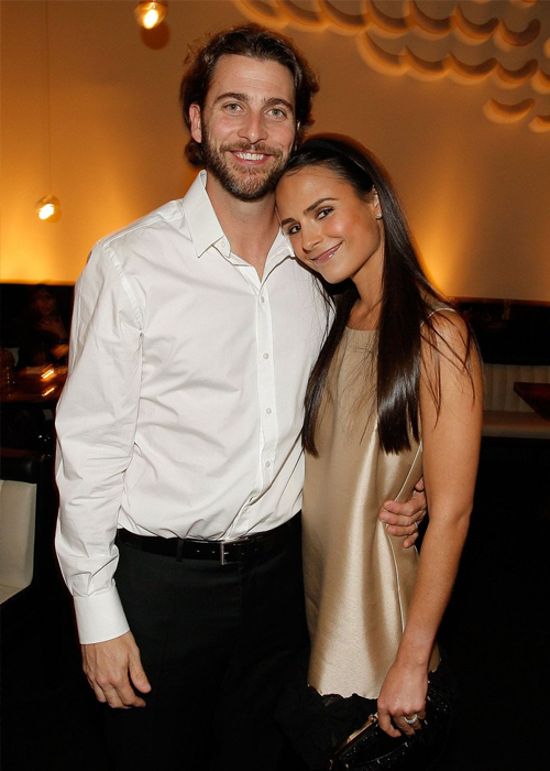 Jordana Brewster và chồng cũ Andrew Form. Ảnh: Jordana Brewster Twitter