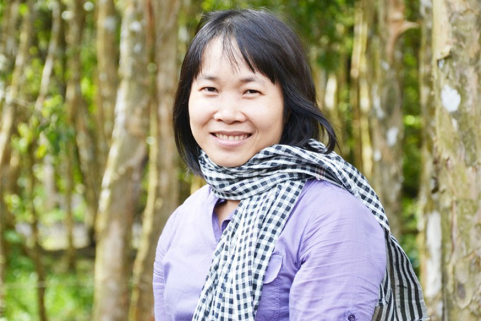 Nhà văn Nguyễn Ngọc Tư. Ảnh: Nhà xuất bản Trẻ